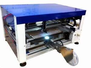 Automatic Smt Pick And Place Machine With Vision Works To 0402 Led And Bga Ic s