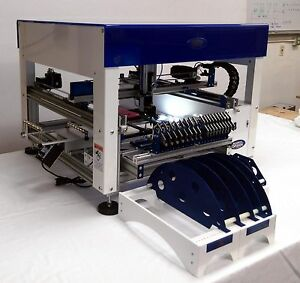 Full Automatic Benchtop Pick And Place Machine With Vision Works To 0402 Led