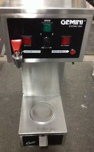 Curtis Gemini 120a Gem 120a Coffee Tea Brewer