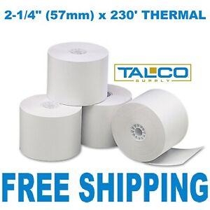 Royal Alpha 583cx 2 1 4 X 230 Thermal Paper 50 Rolls fast Free Shipping