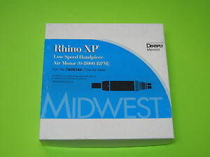 Midwest Rhino Dental Handpiece New In The Box 6 Month Warranty