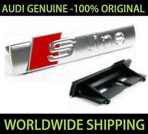 Audi S line Grille Badge Genuine 8e0853736c2zz