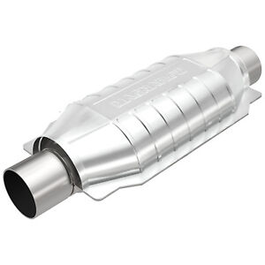 Magnaflow 99006hm Universal High flow Catalytic Converter Oval 2 5 In out