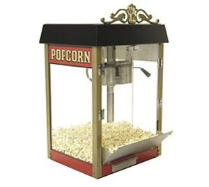 New benchmark Usa 11060 street Vendor 6 Oz Popcorn Popper Machine 127 Quarts hr