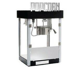 New Benchmark Usa 11045 Metropolitan 4 Oz Popcorn Popper Machine 85 Quarts hr