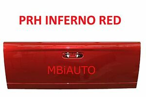 New Painted Prh Red Tailgate For 2002 2009 Dodge Ram Truck 1500 2500 3500