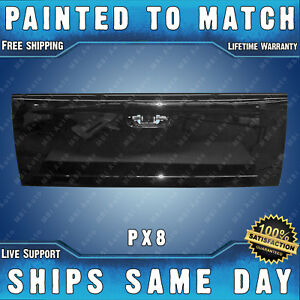 New painted Px8 Black Tailgate For 2002 2009 Dodge Ram Truck 1500 2500 3500