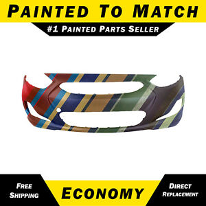 New Painted To Match Front Bumper Cover For 2012 2013 Hyundai Accent 865111r00