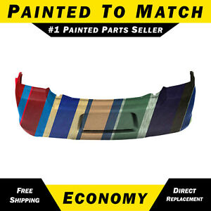 New Painted To Match Rear Bumper Cover For 2011 2014 Dodge Avenger 68081863ac
