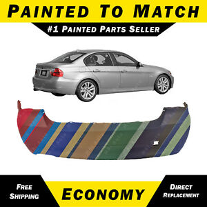 New Painted To Match Rear Bumper Cover For 2006 2008 Bmw 328i 325i 330i 3 Series