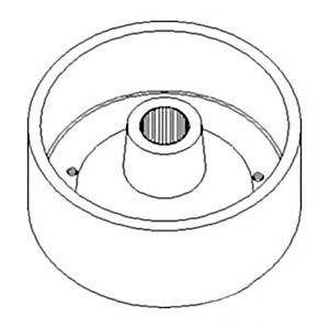 Brake Drum Sba328510081 For Ford New Holland Tractor 1300 1310 1500 1510