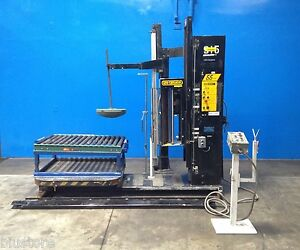 48 Ipm 55 Stretch Wrapping Machine Pallet Wrapping Rotary Table Wrapper