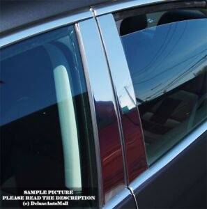 Chrome Stainless Pillar Posts For Nissan Altima Sedan 2002 2003 2004 2005 2006
