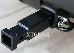 2 To 1 1 4 Trailer Hitch Extension Receiver Reducer Adaptor W 5 8 Pin New