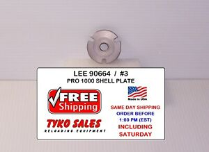 LEE 90664 * LEE PRO 1000 SHELL PLATE #3 * 45 WINCHESTER MAGNUM * 90664