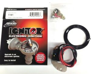 Pertronix 1181 Ignitor Electronic Ignition Points Conversion Kit For Delco gm