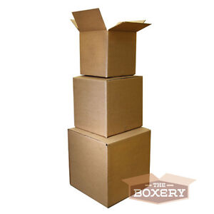 100 7x7x7 Corrugated Shipping Boxes 100 Boxes