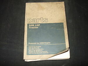 Cat Caterpillar D5b Lgp Tractor Dozer Bulldozer Parts Manual S n 46x724 up