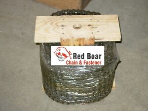 25 Roller Chain 100ft Reel With 20 Connecting Links And 10 Offset Links 25 1r