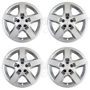 17 Silver Bolt On Wheel Covers Hubcaps For Chevy Malibu Pontiac G6