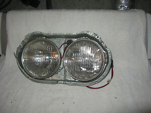 Nos Mopar 1961 62 Plymouth Valiant Headlight Assembly