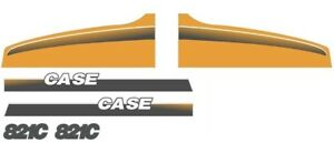 New Case Wheel Loader 821c Decal Set