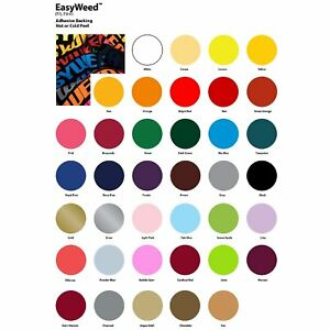 Siser Easyweed Heat Transfer Vinyl Material 20 X 1 Yards 16 Colors Available