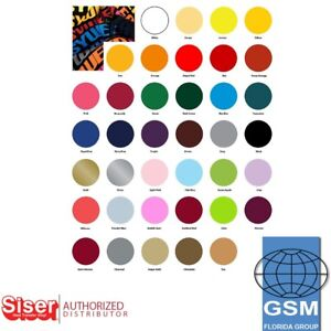 Siser Eeasyweed Htv Heat Transfer Vinyl Heat Press 15 X 10 Yds 38 Colors