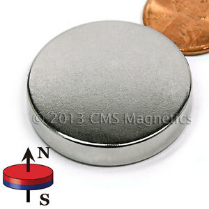 N45 Neodymium Magnets Dia 1 1 4 X 1 8 Ndfeb Rare Earth Disk Magnets 20 Pc