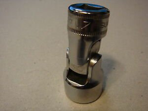 Snap on Fsum17a 17mm 3 8 Drive 6pt Shallow Chrome Universal Socket