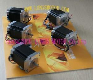 5pcs Nema23 Stepper Motor 270oz in 3a 23hs8630 Cnc Mill cutting