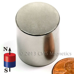 Neodymium Disk Magnets N50 7 8x1 Strong Ndfeb Rare Earth Magnets Lot 4