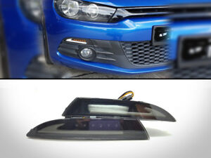 Drl Daytime Light Led Front Indicator Celis Position Lamp For 08 13 Vw Scirocco