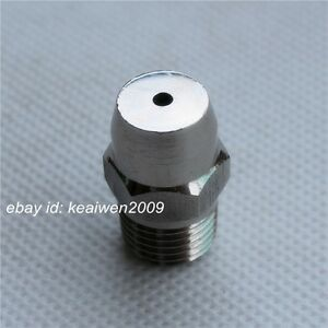2pcs Conical Stainless Steel Spray Nozzle 1 Bspt High Pressure Clean Cooling