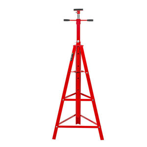 Heavy Duty 2 Ton Auto Shop Steel Red Under Hoist Mount Tripod Stand Underhoist