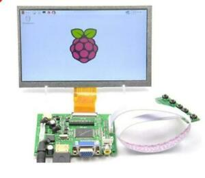 9 Inch 9 Tft Lcd Display Module Hdmi vga 2av Driver Board For Raspberry Pi