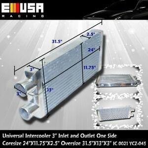 Intercooler 31 5 X13 X3 3 O D Inlet Outlet Same One Side Ycz 045