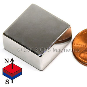 Neodymium Magnets N48 Ndfeb Powerful Magnet 3 4x3 4x3 8 Lot 50