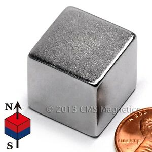 Neodymium Magnets N42 3 4 Cube Ndfeb Rare Earth Magnets Lot 10