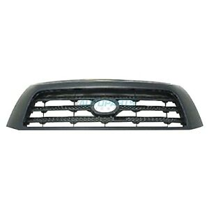 New To1200300 Grille Black Frame Fits 2007 2009 Toyota Tundra