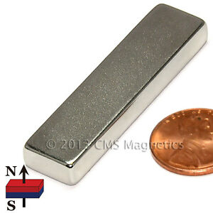 N45 Neodymium Magnets 2x1 2x1 4 Strong Ndfeb Rare Earth Magnets 10 Pc