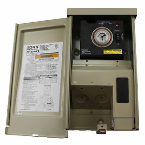 Tork Nsi Timer Power Panel For Pool Spa Lighting W Freeze Protect Pp 20r p4