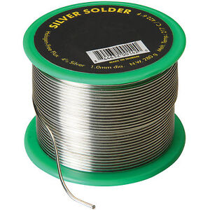 4 Silver Solder 1 0 Mm 0 040 1 2 Lb Spool