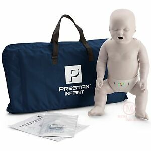 Prestan Infant Cpr Manikin W Rate Mon Light Tone Pp im 100m Cpr aed Mannequin