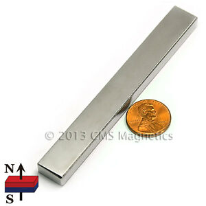 Neodymium Magnets Block N45 4x1 2x1 4 Strong Ndfeb Rare Earth Magnets 1 Pc