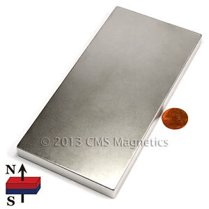 Neodymium Magnets Grade N42 6x3x1 2 Super Strong Ndfeb Rare Earth 1 Pc