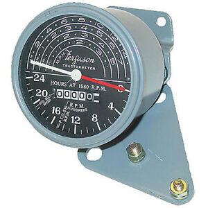 1751312m1 New Tachometer W Mounting Brackets For Massey Ferguson To20 To30