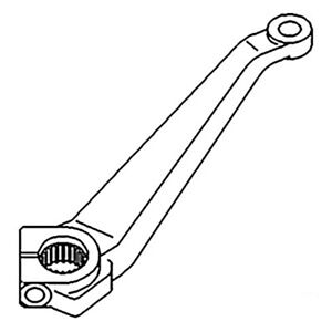 Sba334520250 Rh Steering Arm For Ford New Holland Compact Tractor 1700 1710