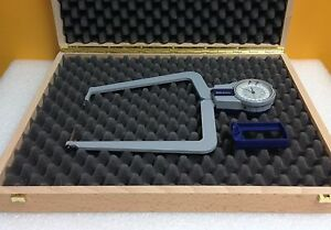 Mitutoyo 209 788 2 0 To 4 0 0 001 Accuracy Pointed Jaw Caliper Gauge W case