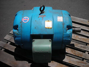 Baldor 60 Hp 230 460 Volts 3 Phase 1760 Rpm 364t Frame Electric Motor